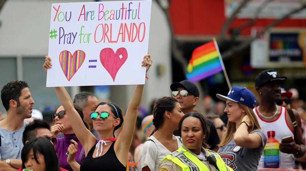 .Desfile del Orgullo Gay en Los Ángeles