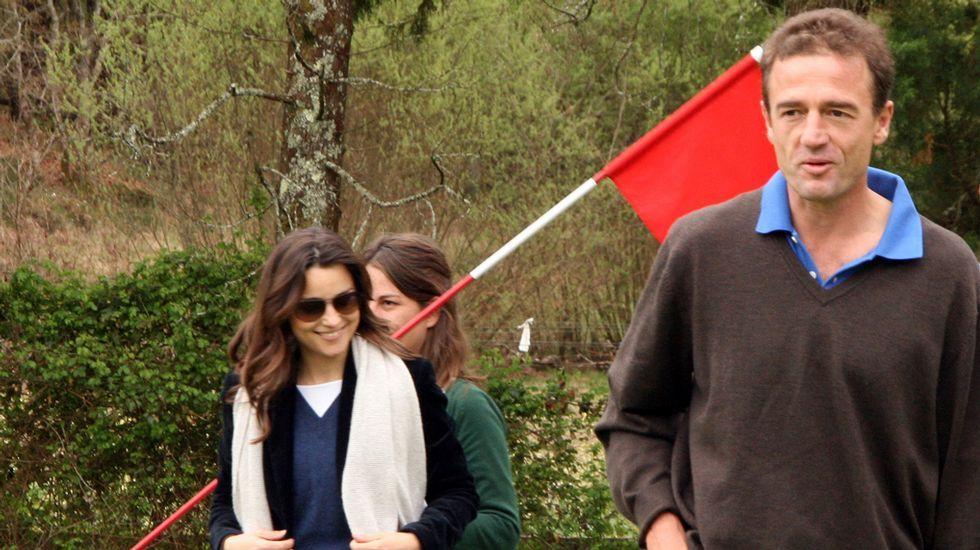 .Lequio y su mujer, en una imagen de archivo.