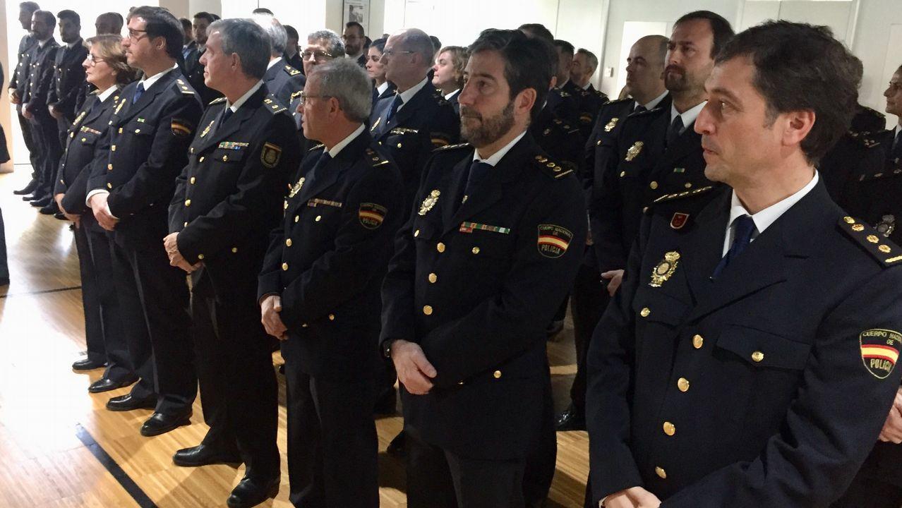 La Policía Nacional celebra en Vigo sus 195 años de historia