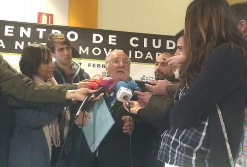 El #TopVacacional de la DGT: hospital, cárcel o cementerio.Pere Navarro atiende a los medios antes de inaugurar el quinto Encuentro de Ciudades