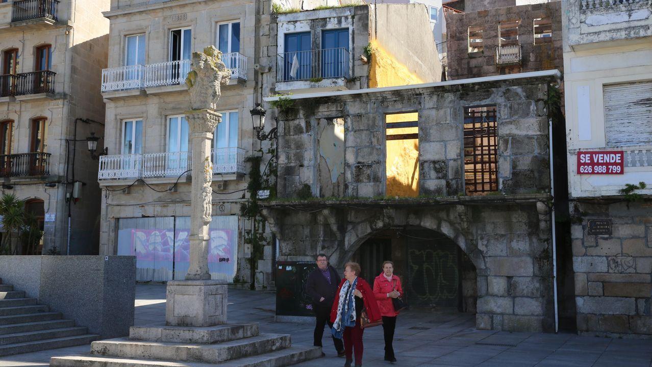El rayacoches, en los juzgados de Vigo
