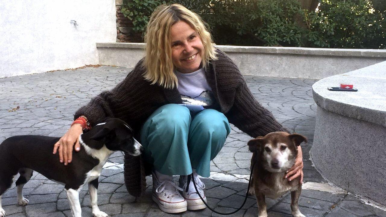 Chocolate, el perro rescatado de la protectora de Ordes que enamoró a Eugenia Martínez de Irujo