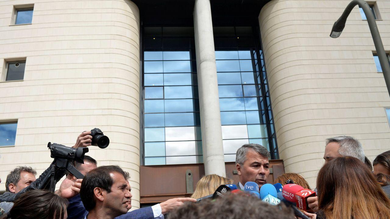El abogado de cuatro de los acusados, Agustín Martínez Becerra