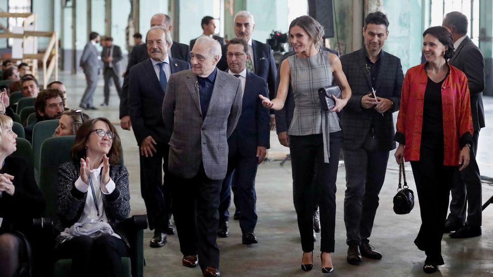 La reina, con Scorsese