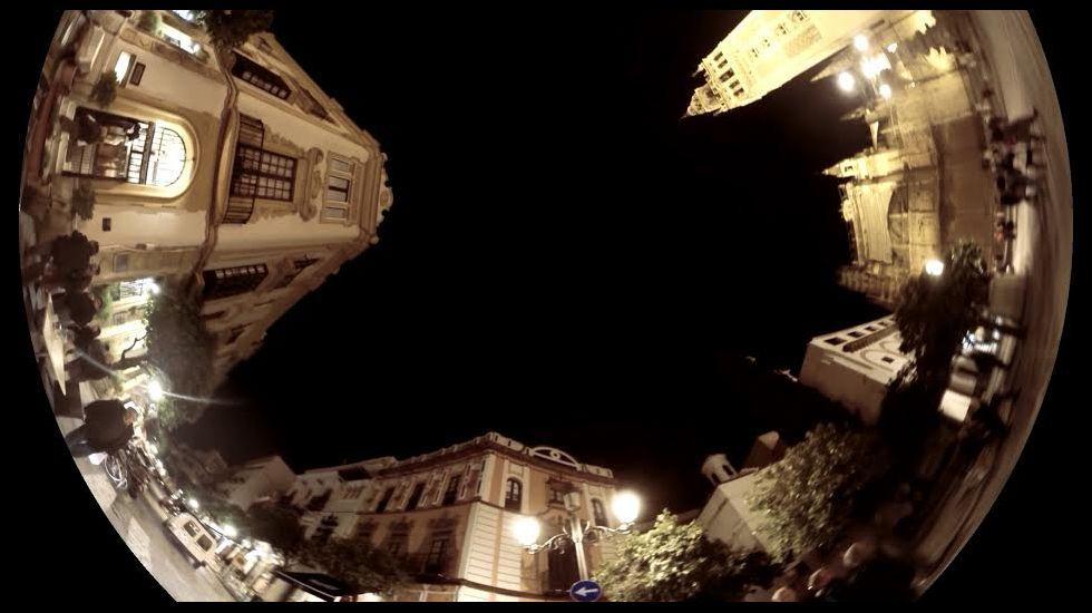 A luz das rúas propágase centos de quilómetros en todas direccións afectando aos espazos naturais
