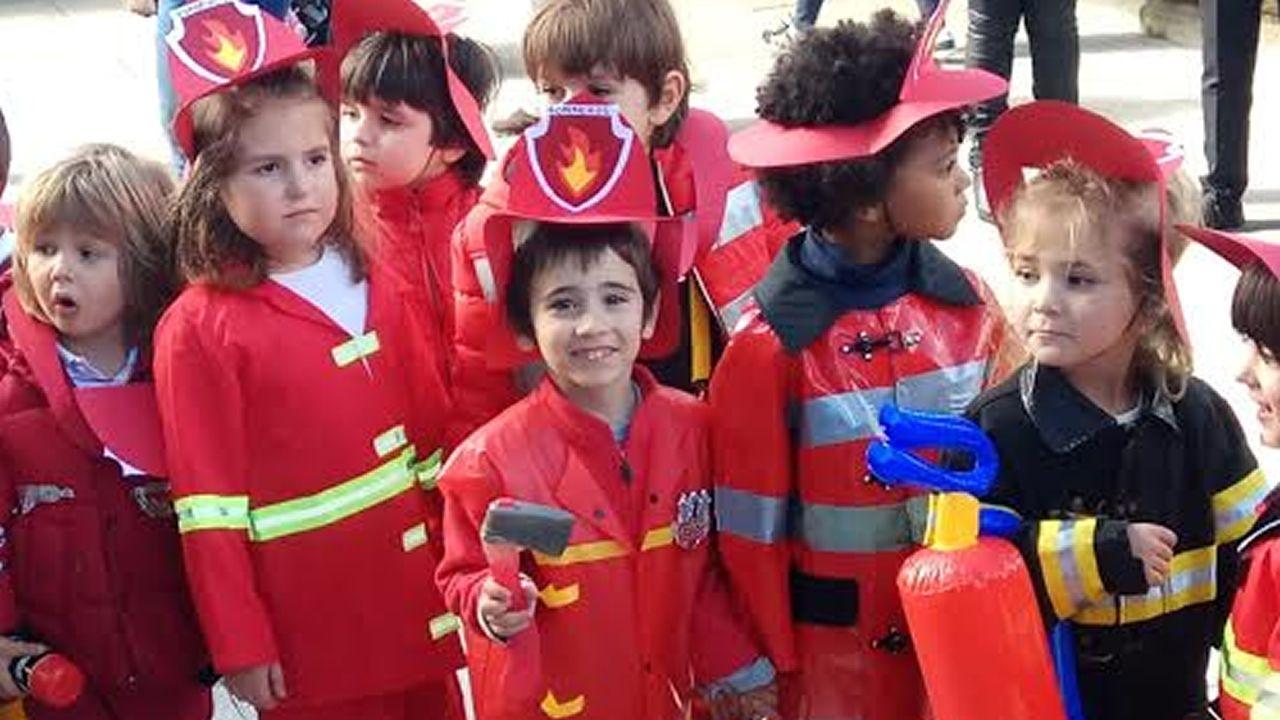 Alumnos del CEIP San Francisco Xabier de A Coruña