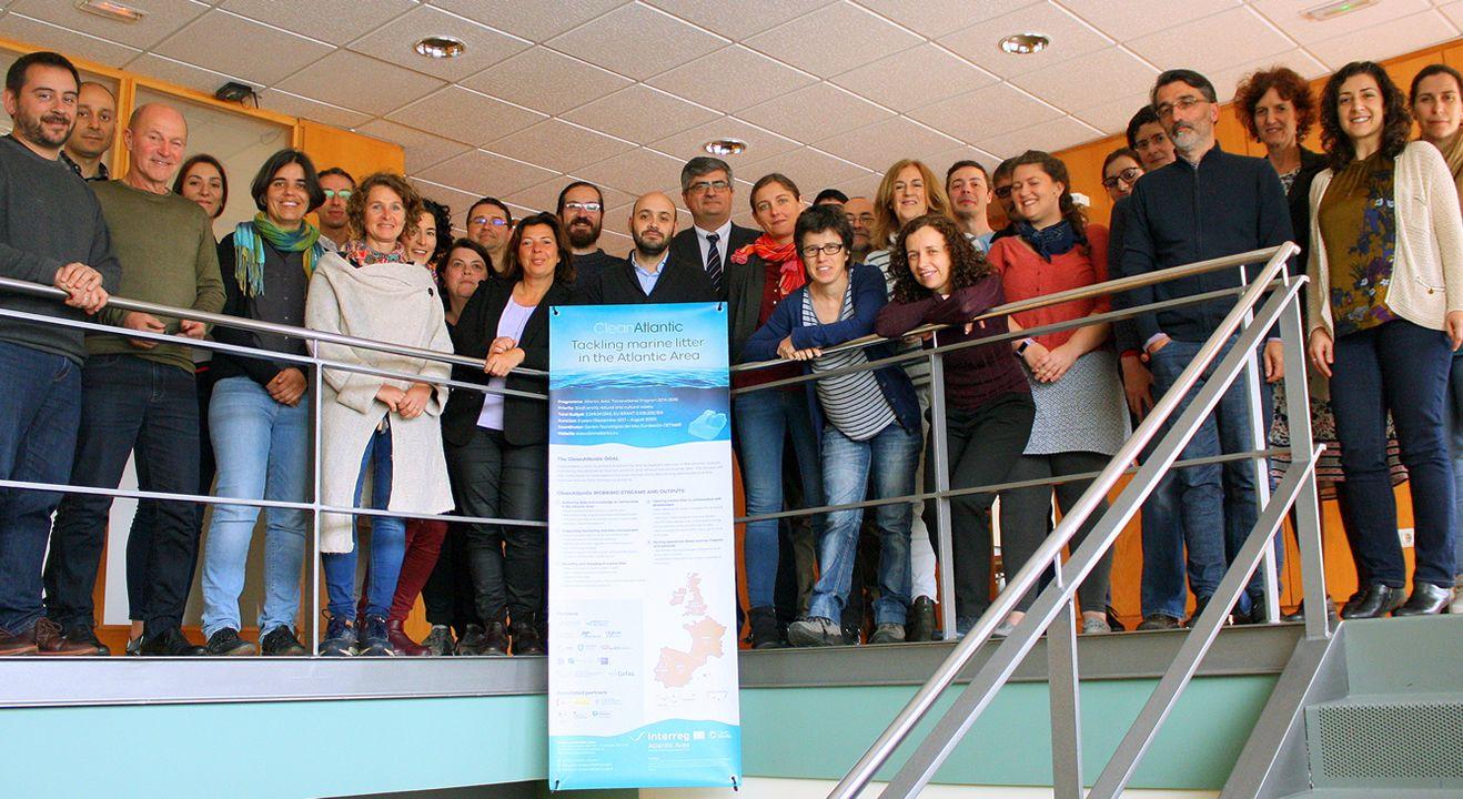 Reunión del proyecto CleanAtlantic que tuvo lugar en mayo en el Cetmar