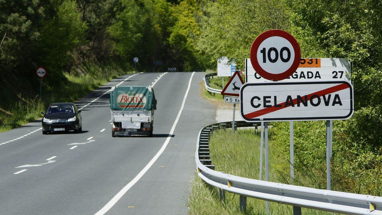 Accidente múltiple en la autopista del Cantábrico, a la altura de Corvera