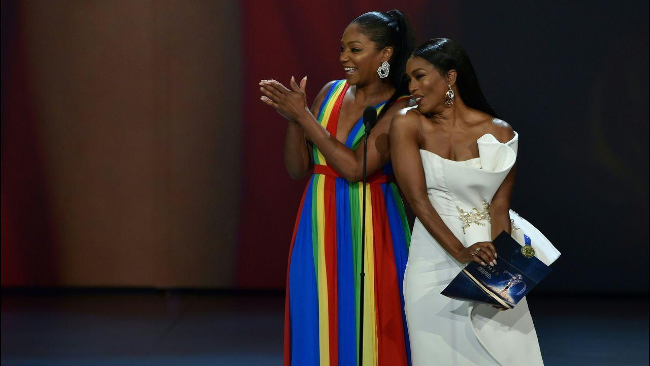Emmy 2018: Tiffany Haddish y Angela Bassett
