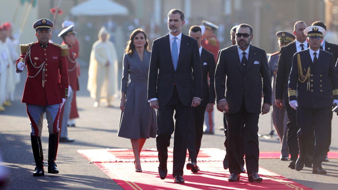 Al menos ocho muertos en un terrible accidente de autobús en Perú.Los reyes de España Felipe y Letizia junto al rey Mohamed VI en la plaza de Mechouar durante la ceremonia oficial de bienvenida