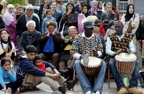 .Imagen de archivo de una de las ferias de Interculturalidad que Arteixo celebra cada año.