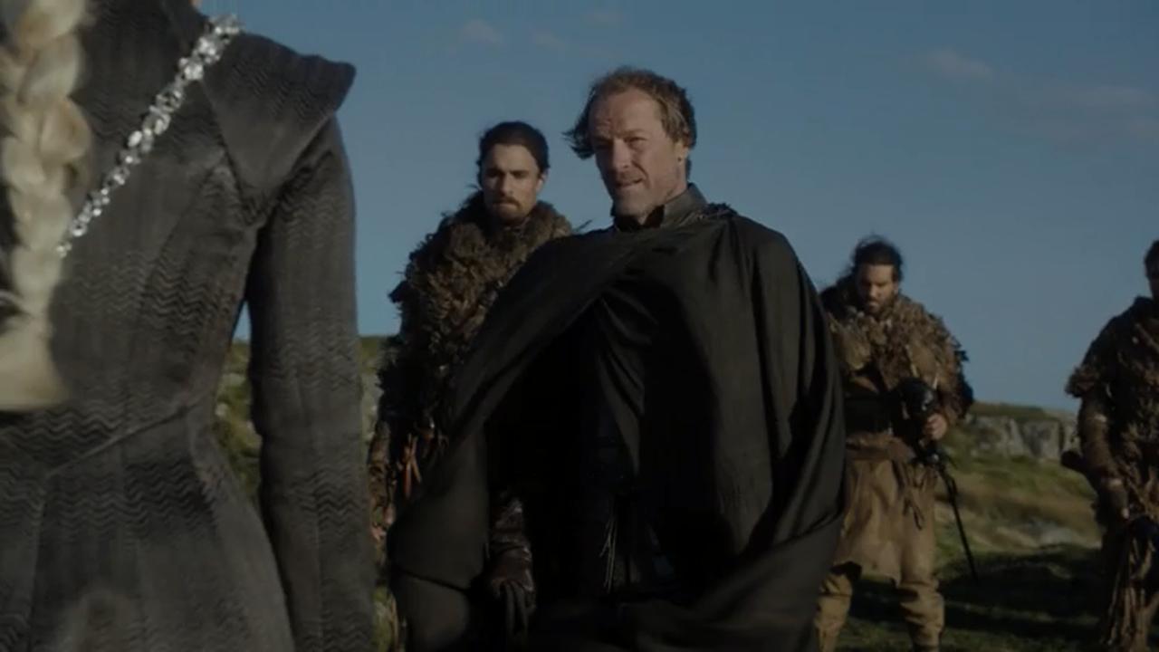 Jorah Mormont en el episodio 7x05 de Juego de Tronos