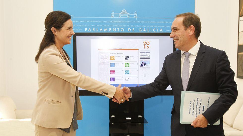La Xunta quiere destinar a Sanidad el superávit presupuestario. En la imagen, el hospital de Vigo