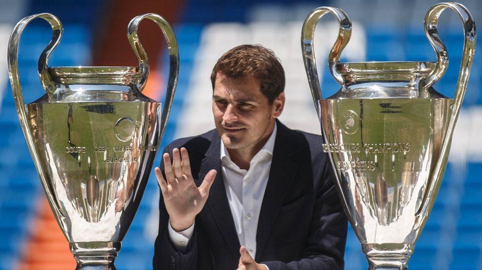 Casillas se despide del madridismo.