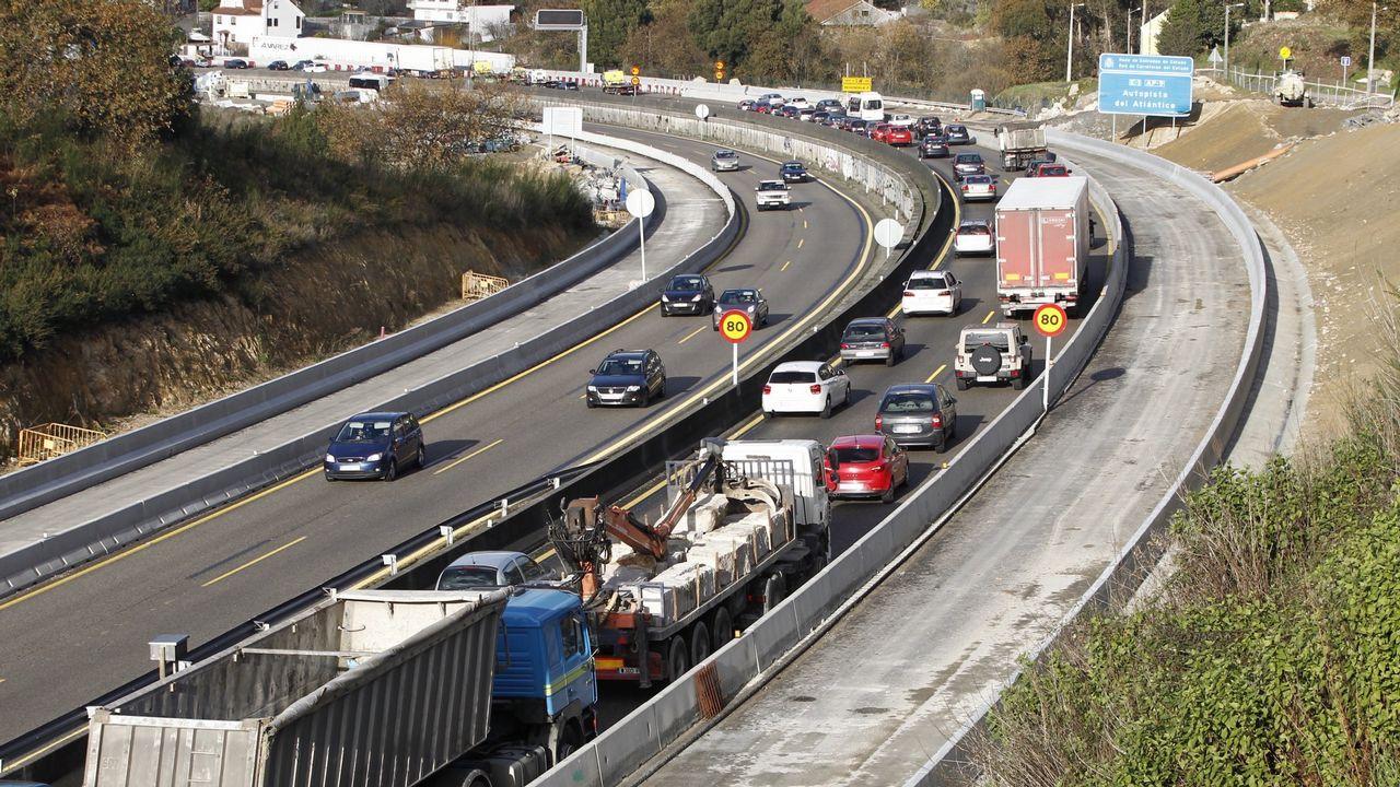 La autopista del Huerna.Protesta de los CDR en la AP-7, en Tarragona