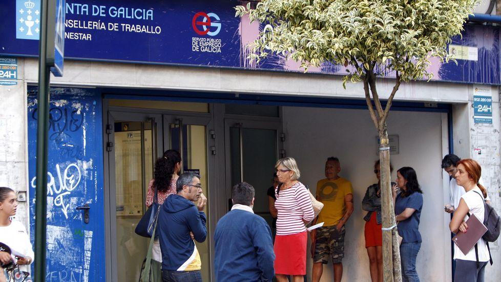 El temporal provoca inundaciones por Vigo y su área.El edificio de Redondela alberga solo dos juzgados mientras que otras villas tienen tres.