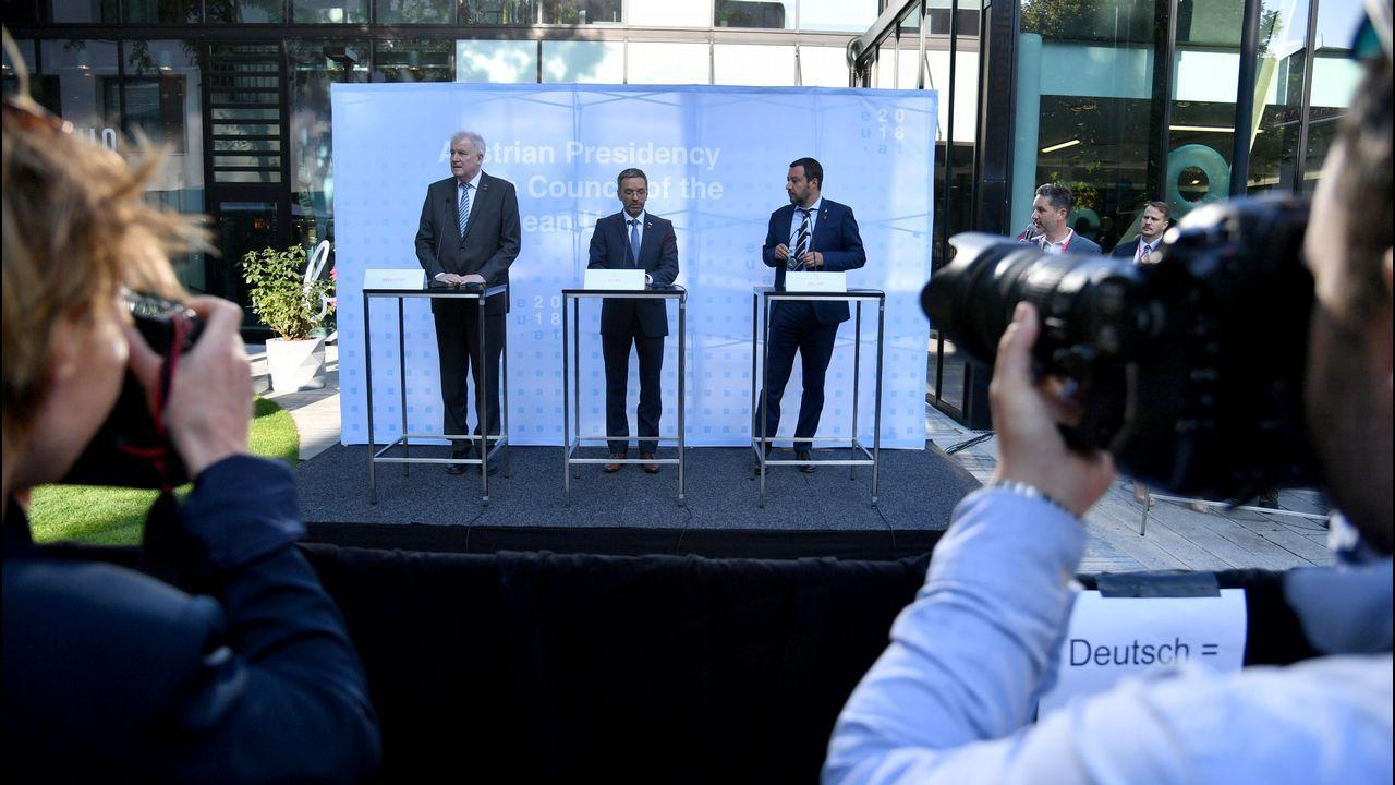 .Seehofer, Kickl y Salvini, este jueves en la ciudad de Innsbruck