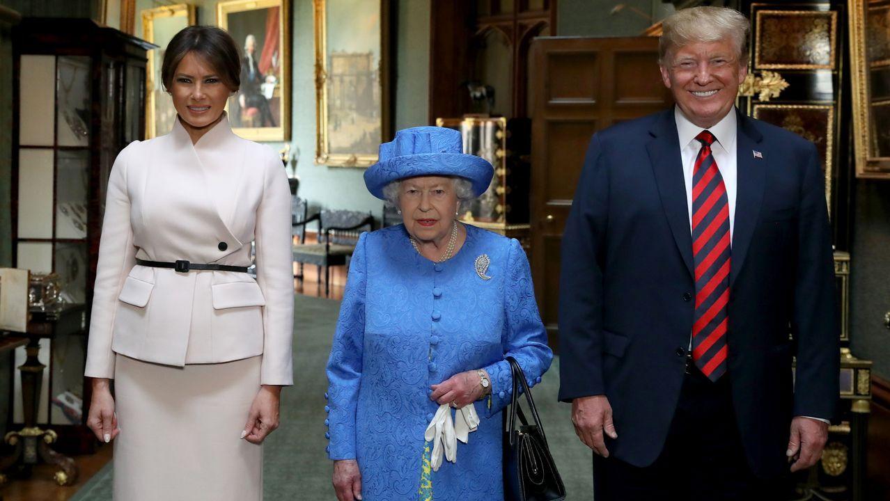 ¿Qué le ocurre a Melania Trump?.Amalija y Viktor Knavs, padres de Melania Trump