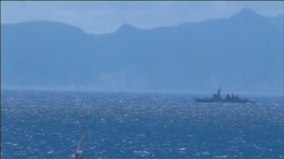 Gibraltar denuncia la «incursión ilegal en aguas territoriales gibraltareñas y británicas» del buque.