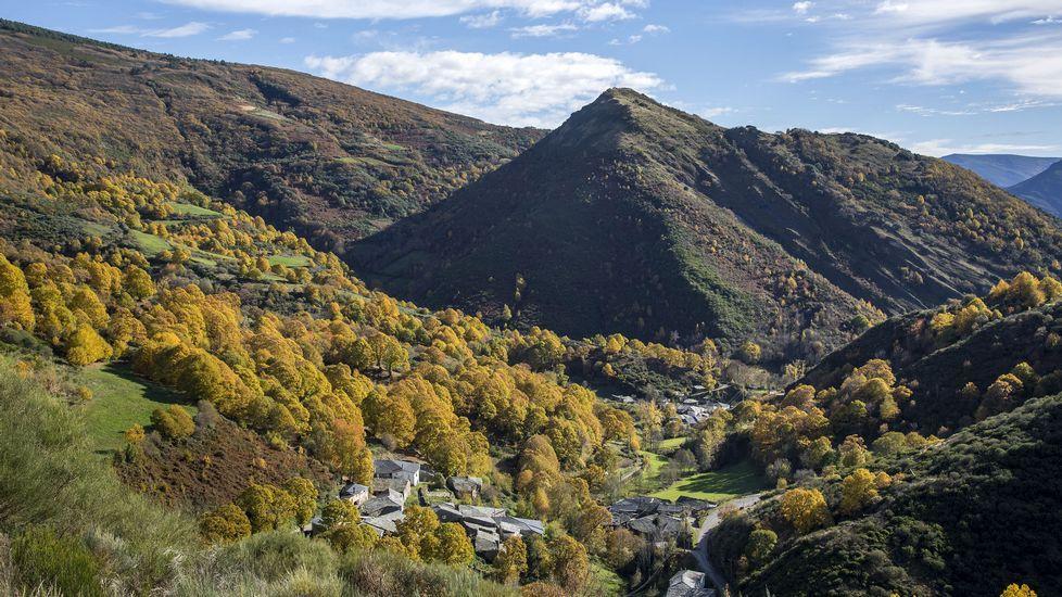 Paisajes otoñales en las montañas de O Courel y Quiroga