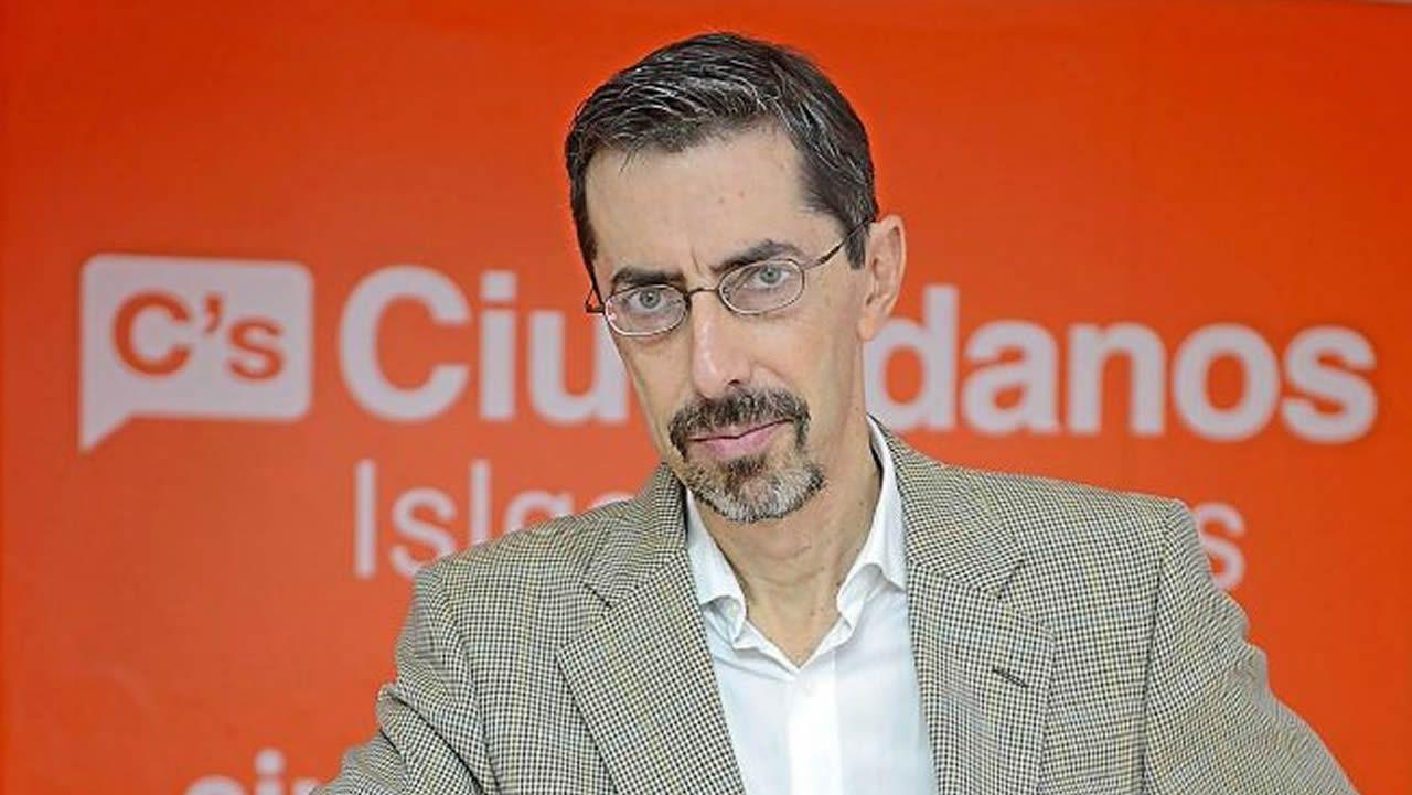 .Fernando Navarro es portavoz de Ciudadanos en la comisión de Fomento