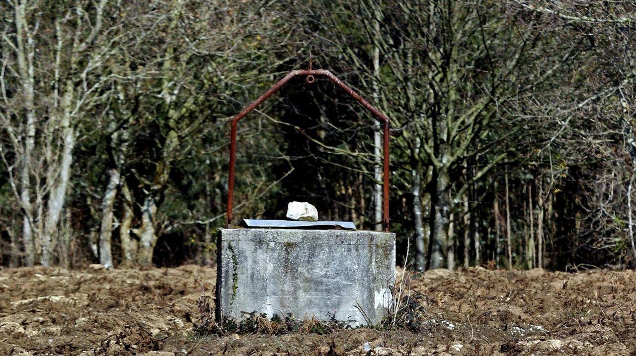 Imagen de archivo de un pozo ubicado en una finca rural para extraer agua
