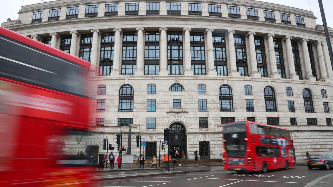 Sede de Unilever en el centro de Londres