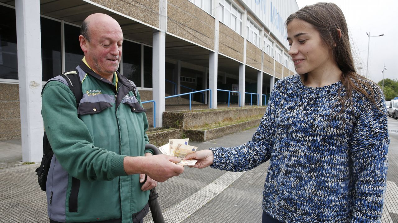 El cartel desesperado que le devolvió a José los 700 euros que perdió en la calle.