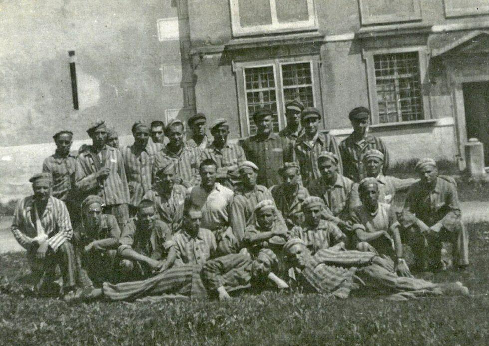Liberados del campo de concentración nazi de Mauthausen entre los que estaba Joaquín Balboa, el vecino de Verín que será homenajeado.