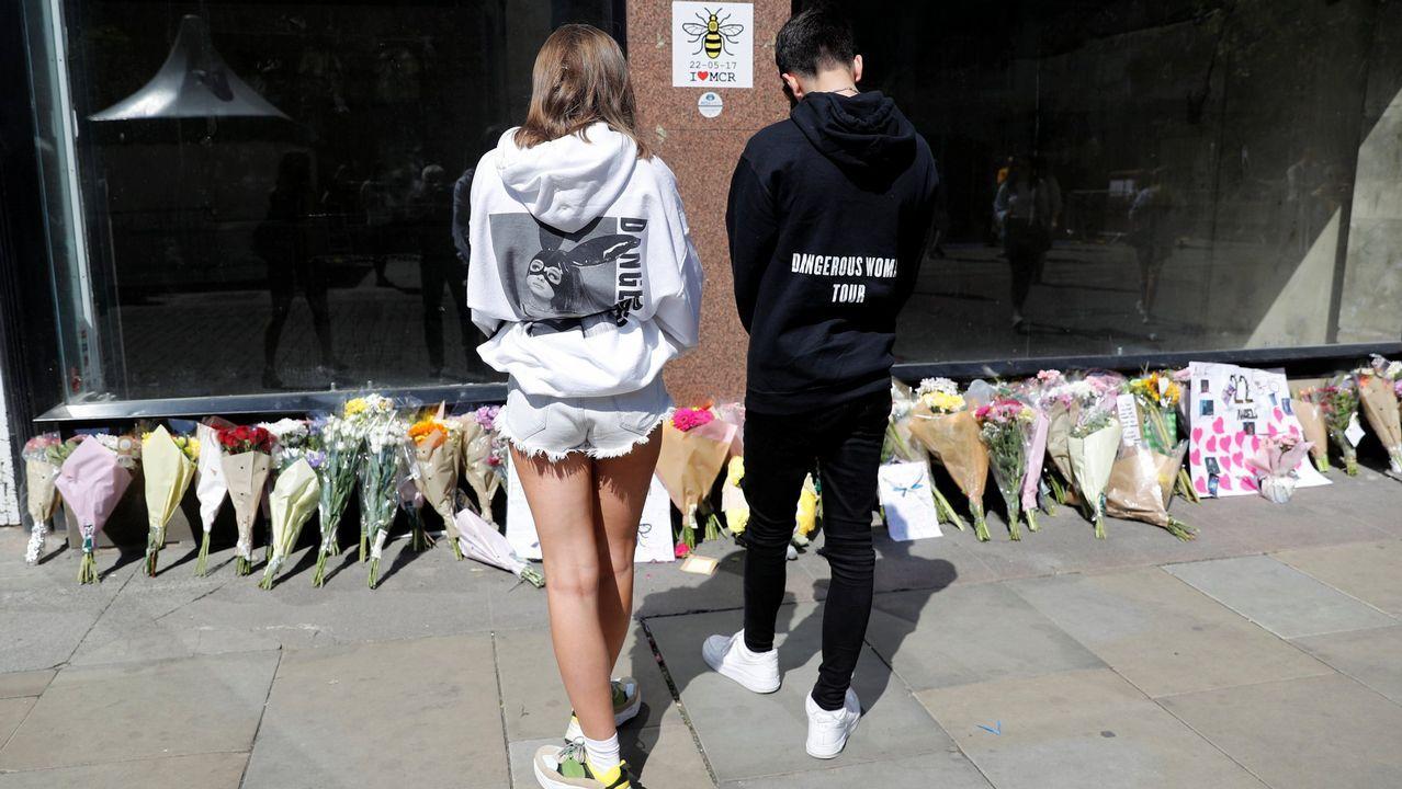 Homenaje en el primer aniversario del atentado