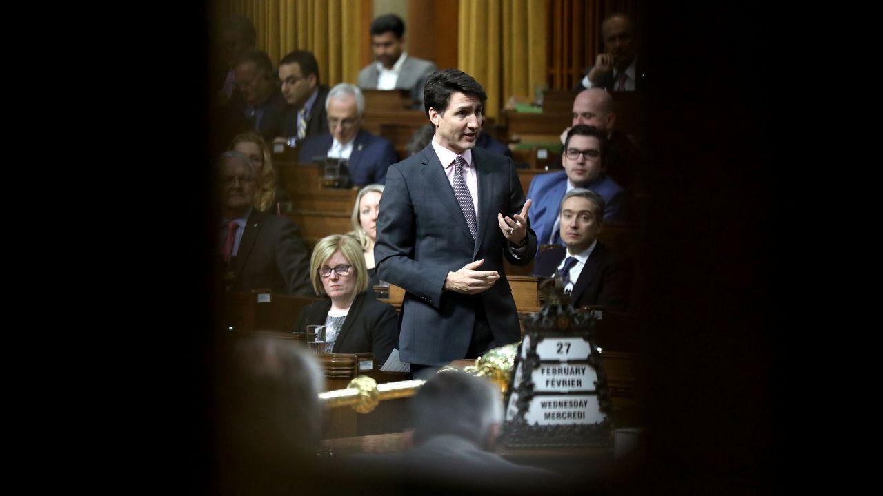 El primer ministro de Canadá Justin Trudeau