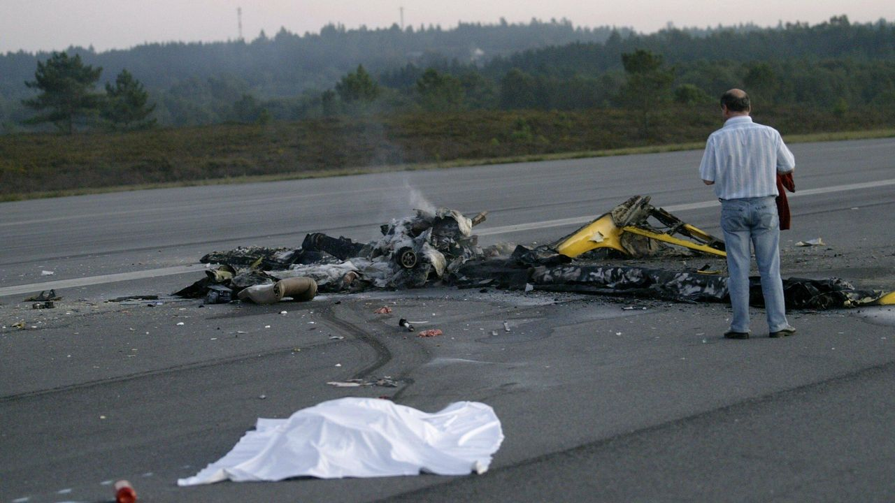 Accidente mortal en el aeródromo de Rozas (Lugo) con una aeronave de construcción amateur