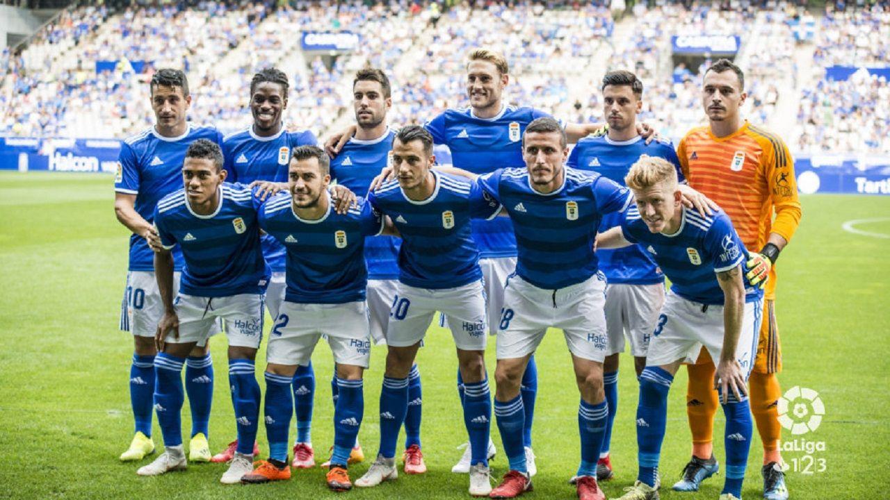 Alineacion Real Oviedo Zaragoza Carlos Tartiere.Alineacion del Real Oviedo frente al Zaragoza