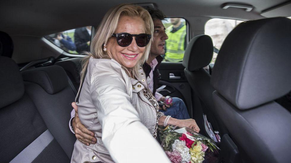 Isabel Pantoja, el pasado junio, en uno de los permisos penitenciarios