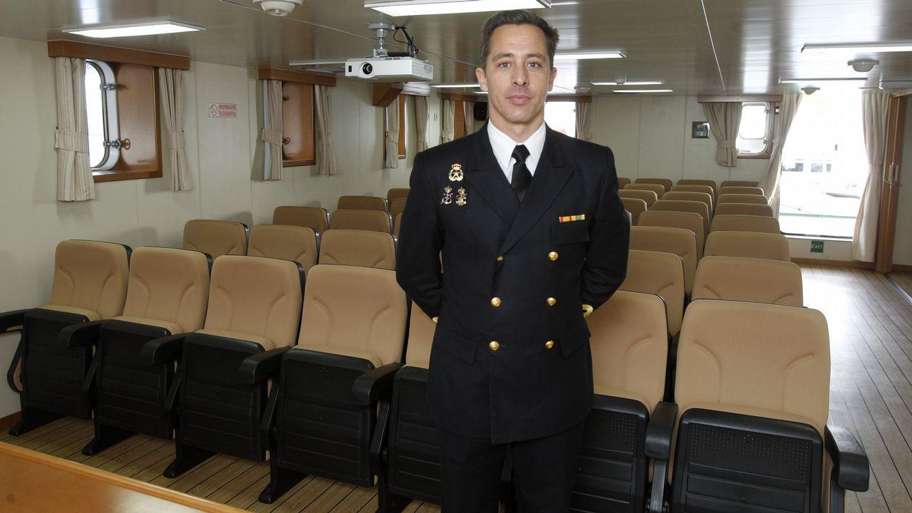 La universidad que navega en Ferrol.Putin acudió al Centro Nacional de Mando para supervisar el lanzamiento del misil Avangard