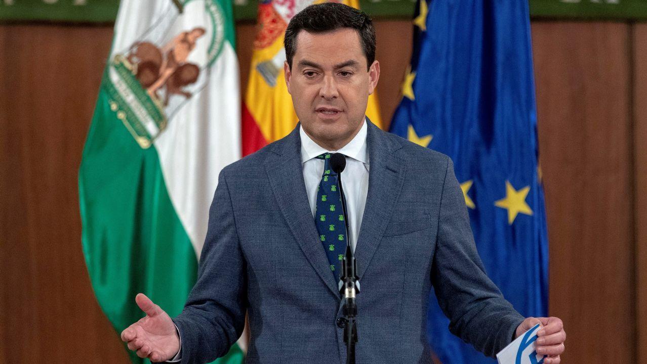 El líder del PP andaluz, Juanma Moreno, busca un acuerdo que debe estar ultimado antes del 27 de diciembre