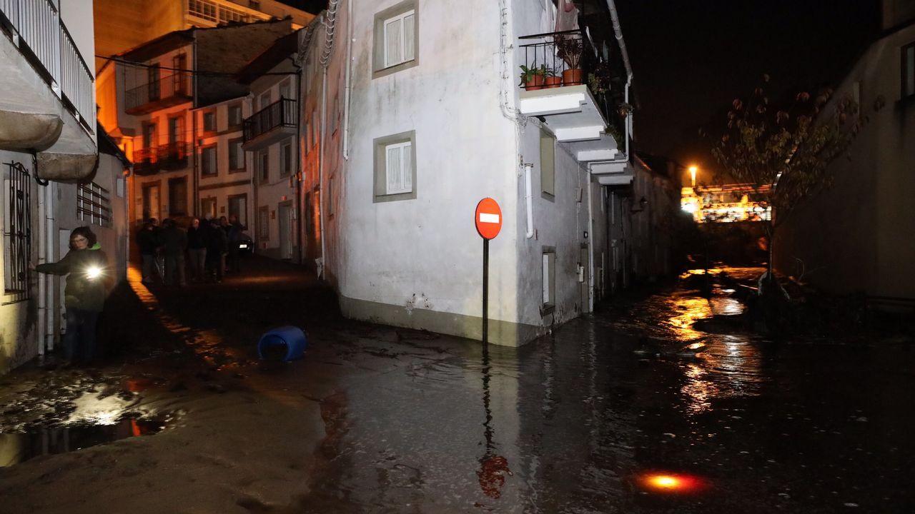 Inundaciones en Xunqueira donde murió la mujer de 83 años