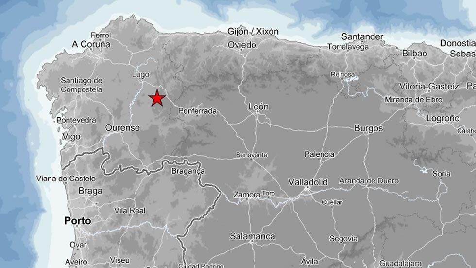 Así se sintió el terremoto: «<span lang= gl >Escoitei un ruido moi forte, pero non se moveu nada</span>»