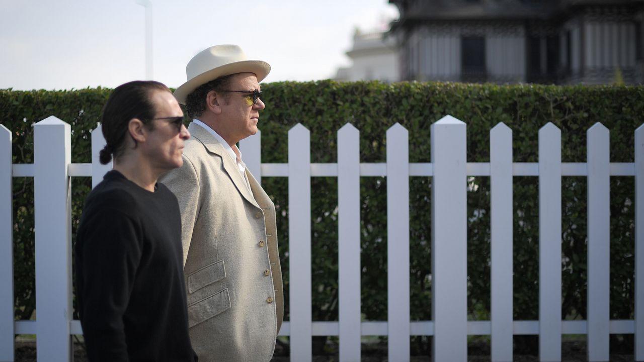 Joaquin Phoenix y John C. Reilly, en el festival de cine de Deauville