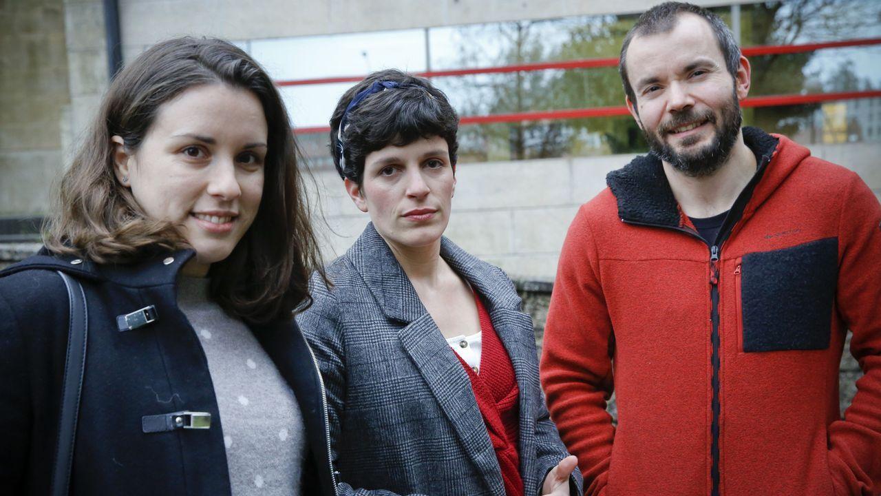 Alicia Colmeiro, Alicia Losada y Daniel de Bernardo rechazan el nuevo contrato del Sergas