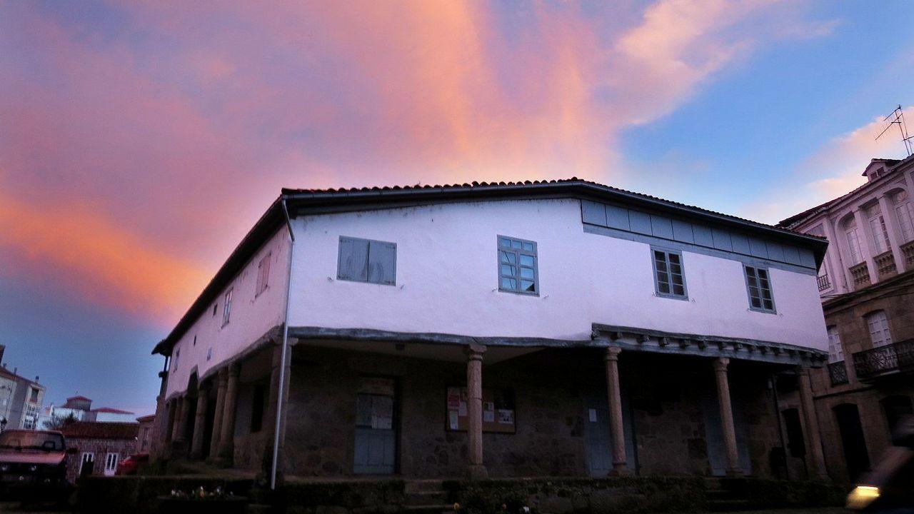 El arquitecto firmó la rehabitación de la Casa da Cultura de Chantada
