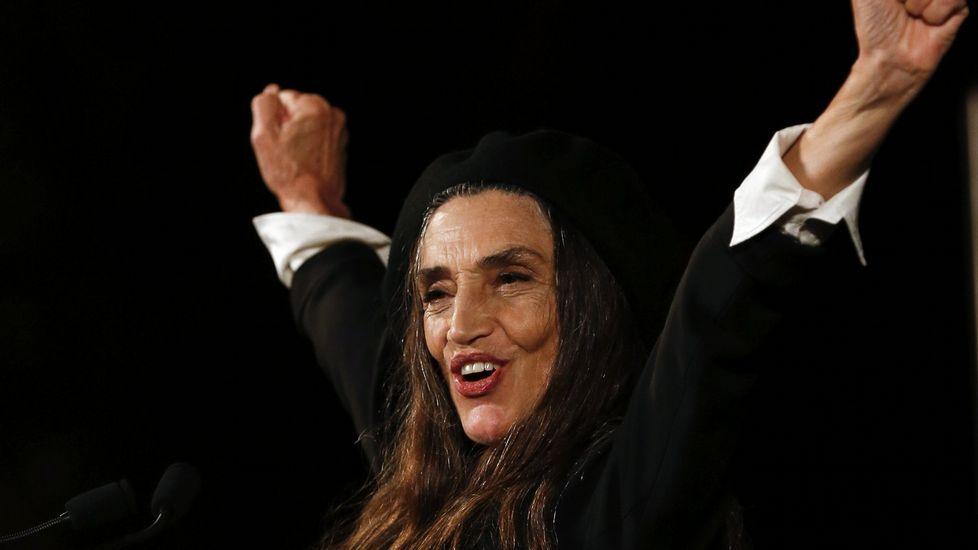 Ángela Molina recibió el Premio Nacional de Cinematografía