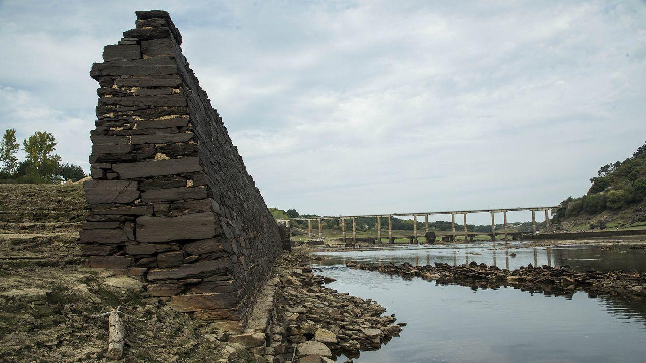 .Muro de contención del antiguo paseo del Malecón