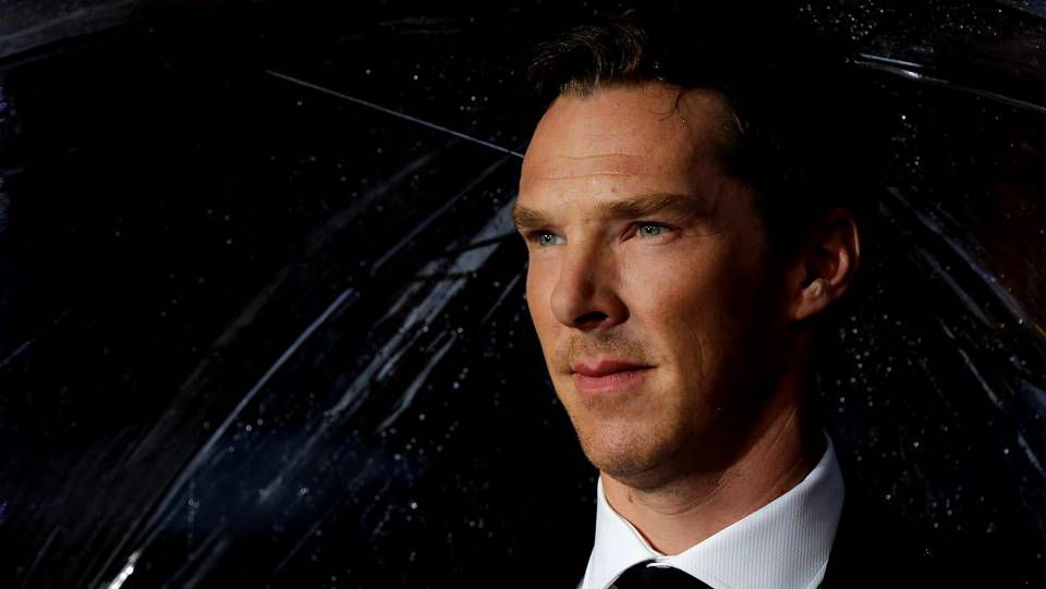 Benedict Cumberbatch durante la premiere en Londres a primeros de octubre de «The imitation game»