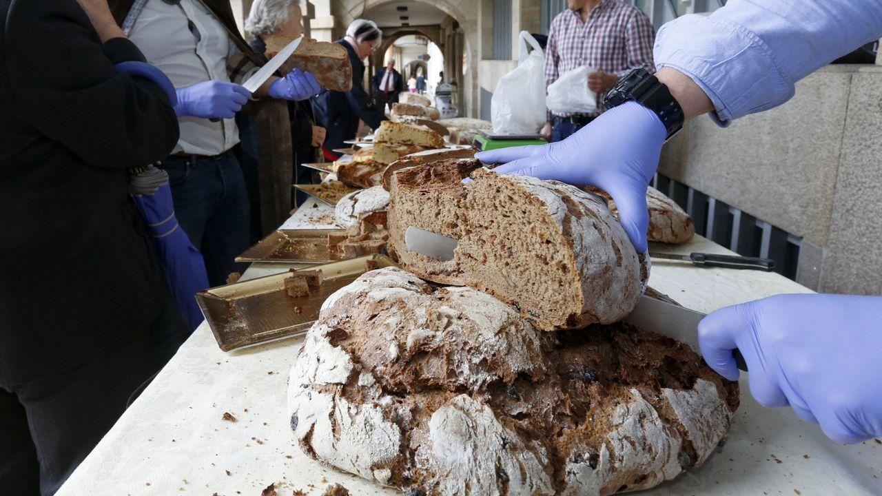 La Praza Maior acogerá puestos de degustación y venta de  pan romano