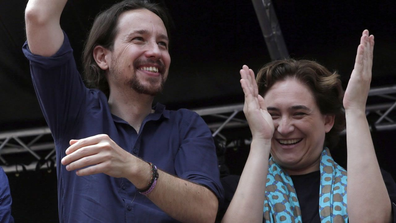 Colau expulsa al PSC del Ayuntamiento de Barcelona.Ada Colau