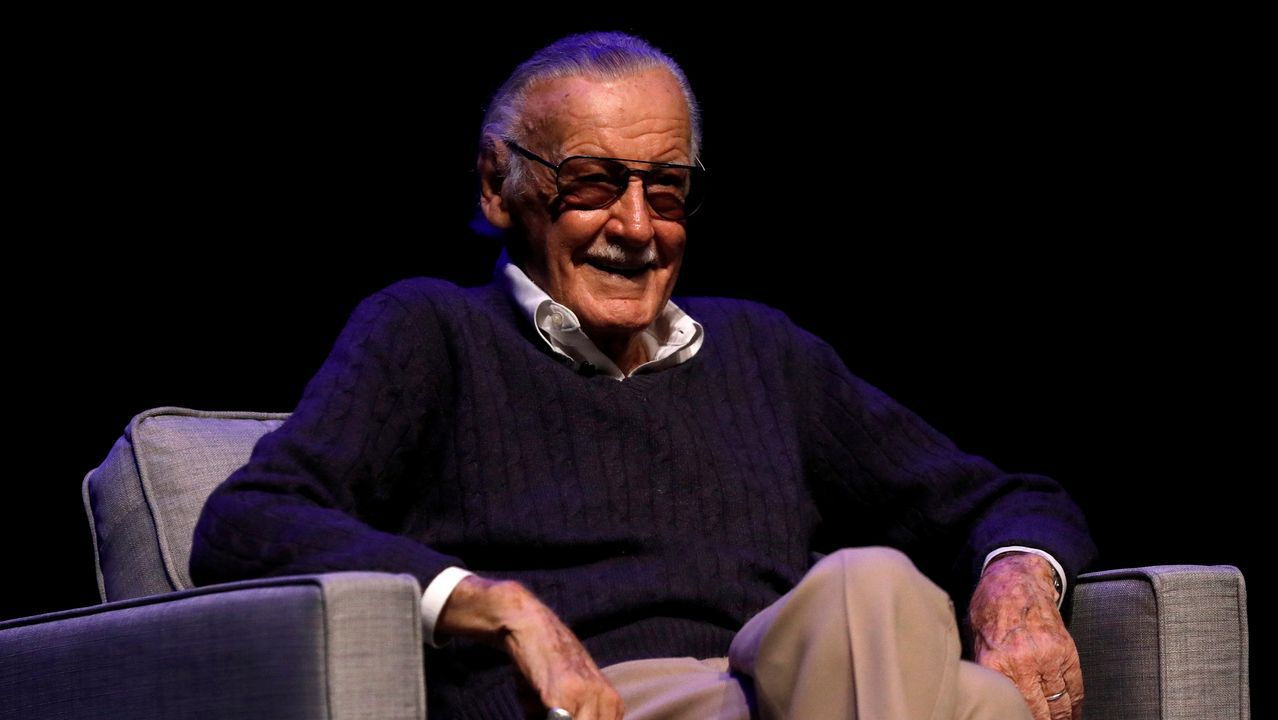 El dibujante de cómic Stan Lee