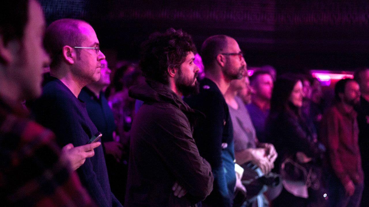 Público en un concierto en Gijón