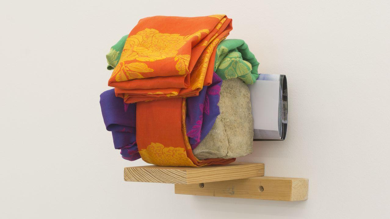Detalle de la obra «Cabeza I» (2012)