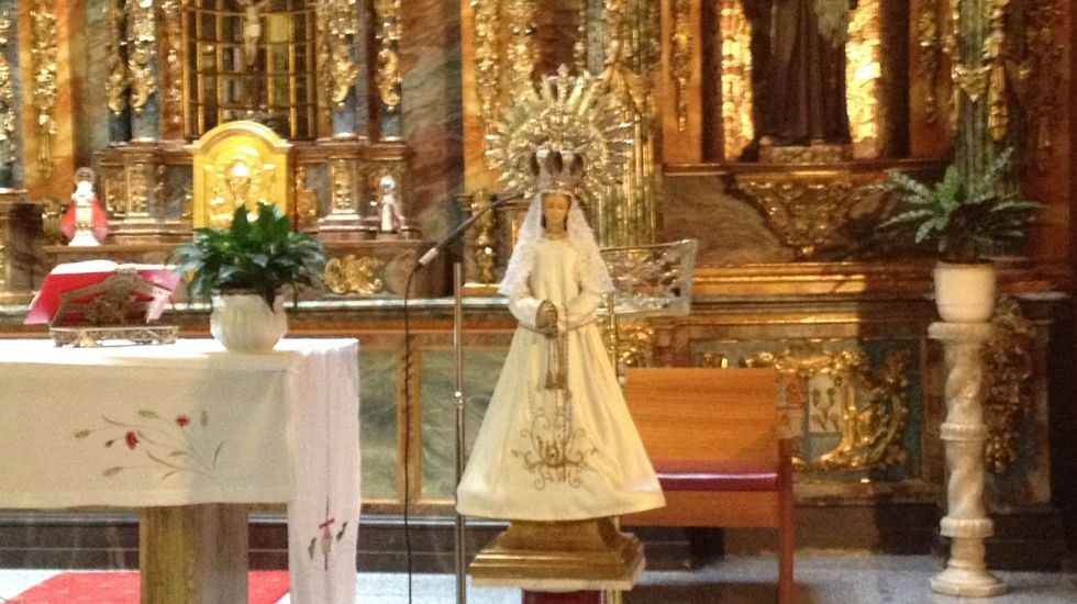 Virgen del Carbayu.Virgen del Carbayu